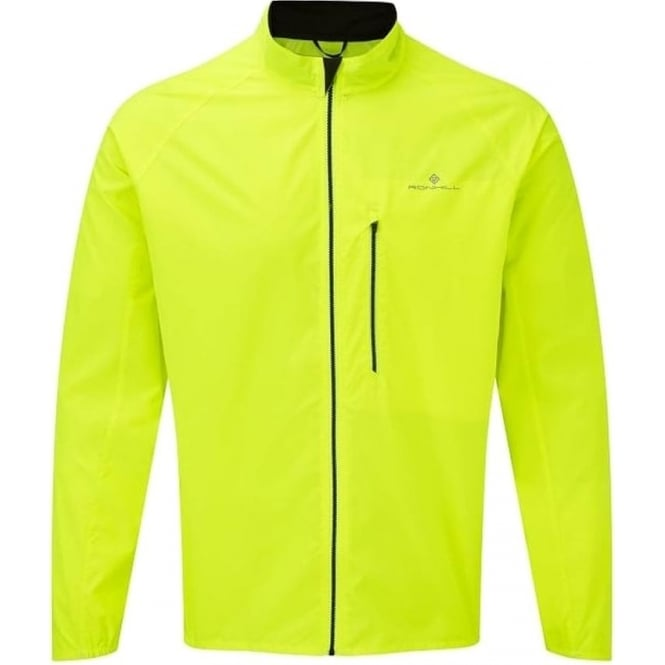 Men's Everyday Running Jacket Fluo Yellow