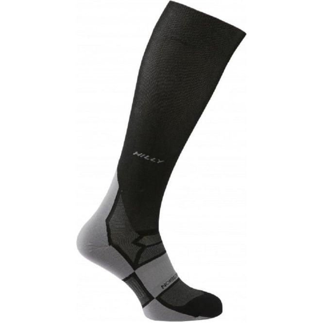 Hilly Pulse Compression Sock Black/Grey