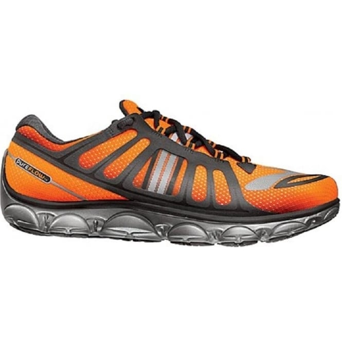 Brooks Pure Flow 2 Mens Running Shoes Black/Orange