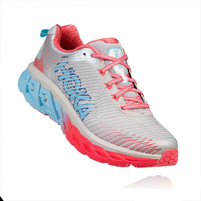 Hoka Arahi Womens Road Running Shoes Microchip/Dubarry