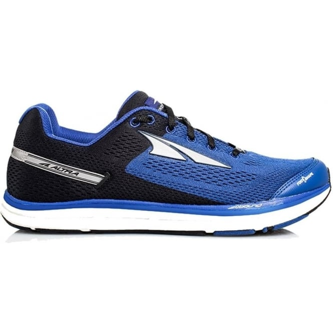 Altra Instinct 4.0 Blue/Black Mens Zero Drop Road Running Shoes