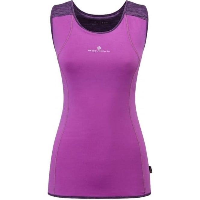 Infinity Cargo Running Vest/Tank Top Womens Purple Thistle