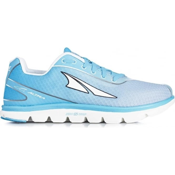 Altra One 2.5 Womens Zero Drop Road Running Shoes Light Blue