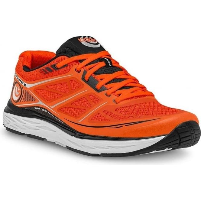 Topo Fli-Lyte 2 Mens Road Running Shoes Orange/Black