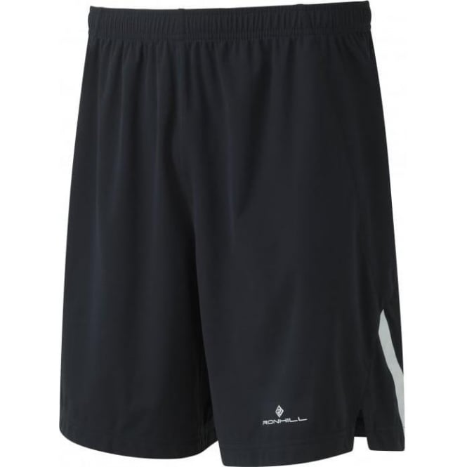 Mens Infinity Wind-Block Running Shorts All Black