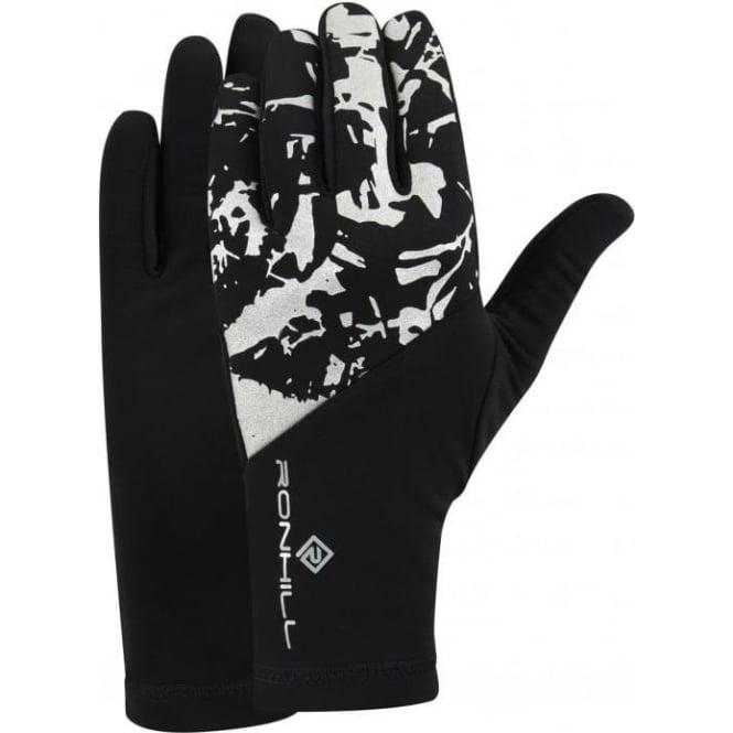 Ronhill Sirius Running Gloves Black/Reflect