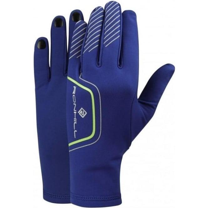 Ronhill Running Gloves Cobalt/Gecko