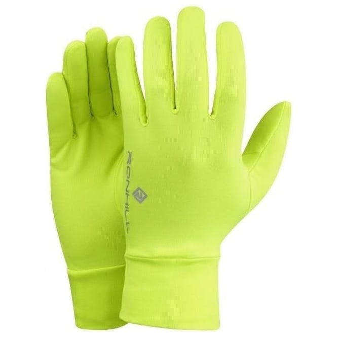 Classic Running Gloves Fluo Yellow