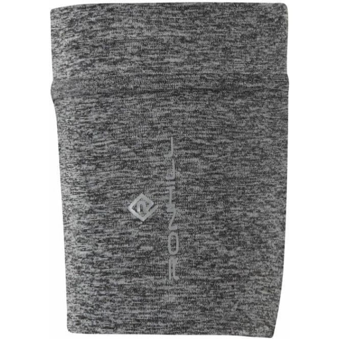 Stretch Arm Pocket Grey Marl