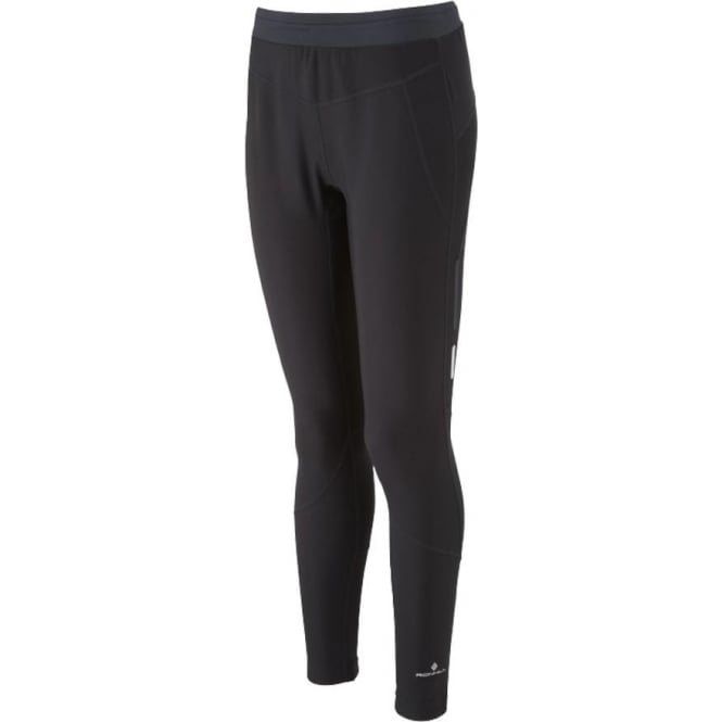 Ronhill Stride Winter Womens Running Tights All Black