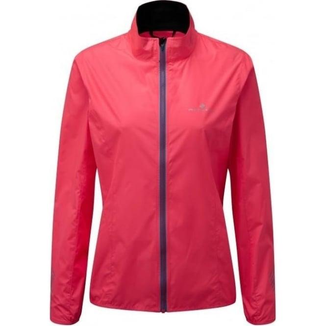 Ronhill Stride Windspeed Womens Running Jacket Hot Pink/Deep Cyan