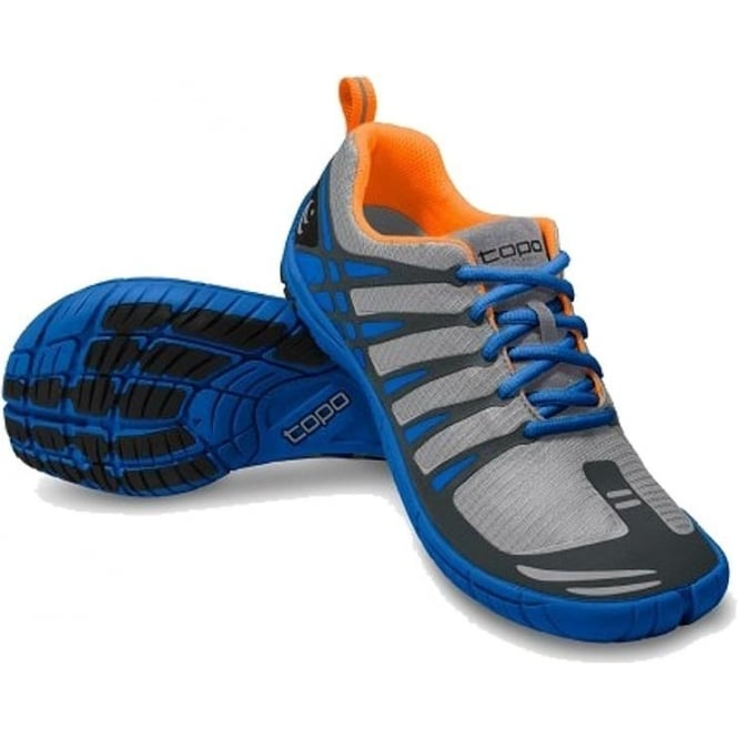 Topo ST Mens Road Running Shoes Grey/Cobalt