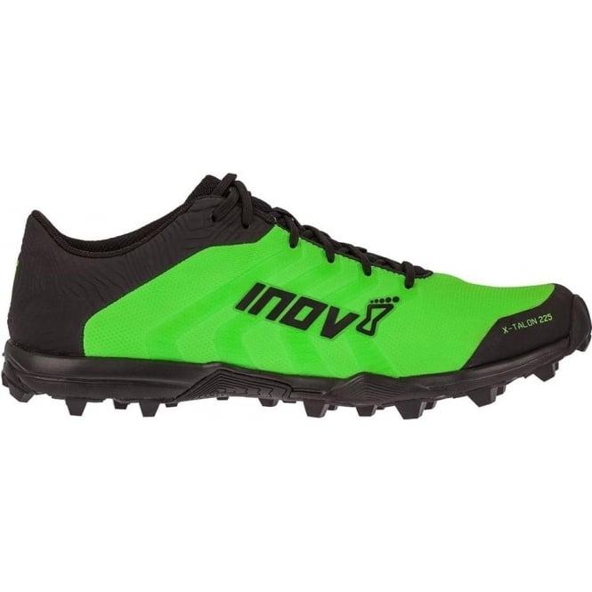 Inov8 X-Talon 225 UNISEX PRECISION FIT Fell Running Shoes Green/Black
