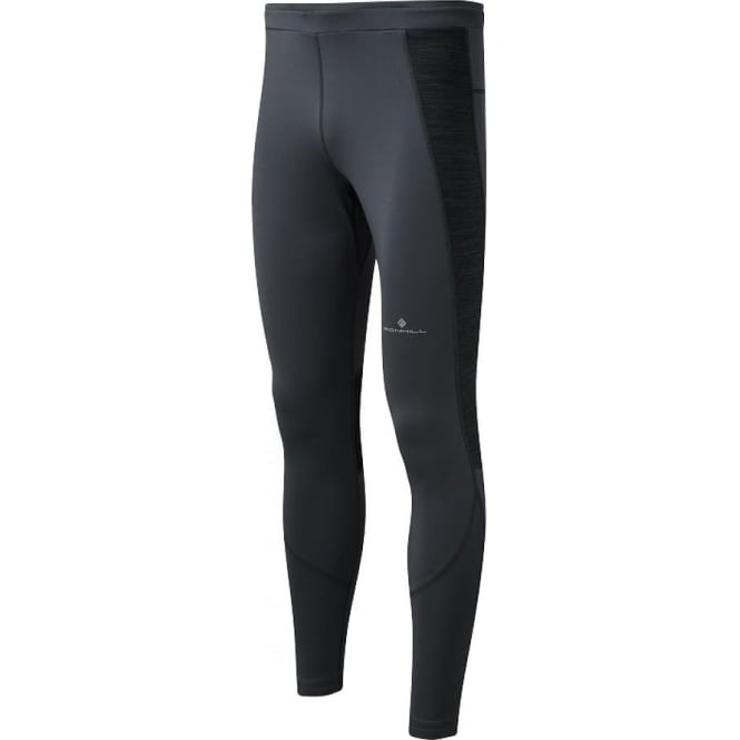 Ronhill Momentum Mens Running Tights Charcoal