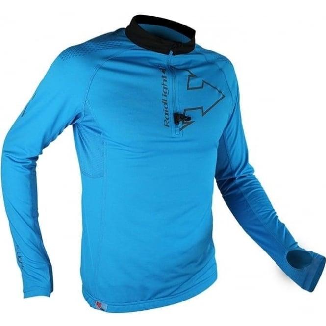 Raidlight Performer XP Mens Long Sleeve Running T-shirt Electric Blue/Black