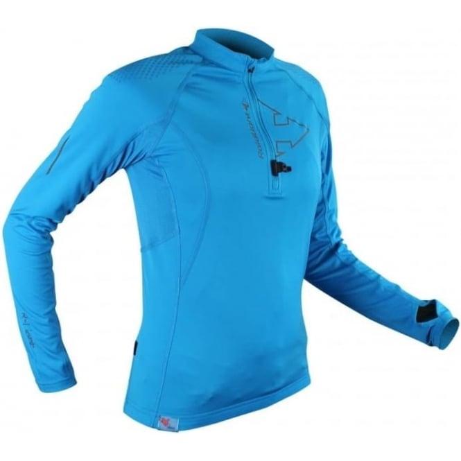 Raidlight Performer XP Womens Long Sleeve Running Top Electric Blue