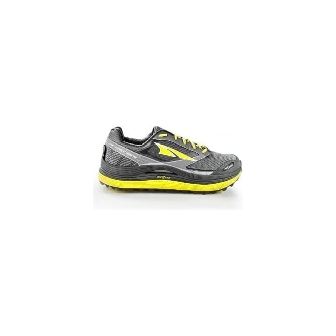 Altra Olympus 2.5 Mens Zero Drop Trail Running Shoes Grey/Lime
