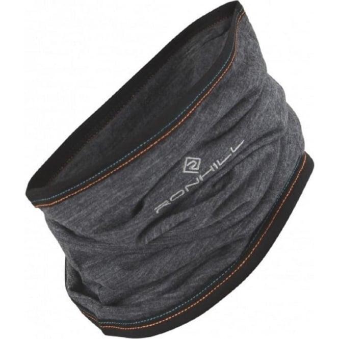 Ronhill Merino Neck Gaiter GreyM/Blk/Spruce