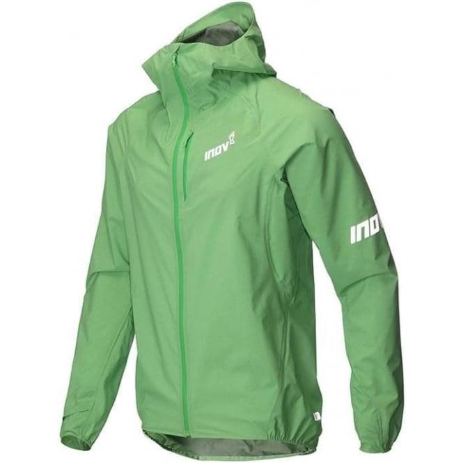 Inov8 AT/C Stormshell Full Zip Mens Running Jacket Green