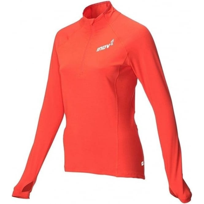 Inov8 AT/C Long Sleeve Womens Running Mid Layer Coral