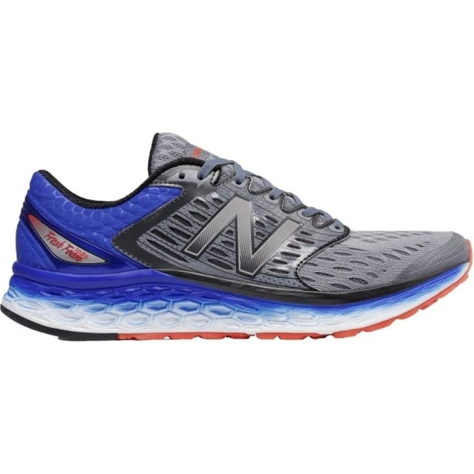 New Balance 1080 v6 Mens D STANDARD WIDTH Road Runing Shoes Silver/Blue