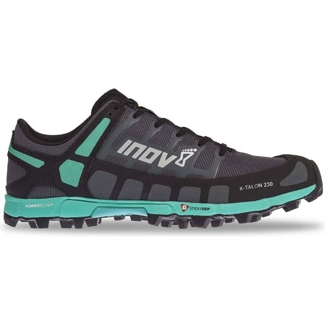 Inov8 X-Talon 230 Womens PRECISION FIT Fell Running Shoes Grey/Teal