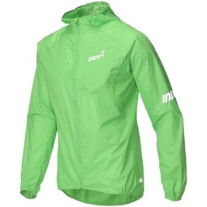 Inov8 AT/C Windshell Full Zip Mens Running Jacket Green