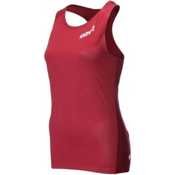 Inov8 AT/C Singlet Dark Red Womens