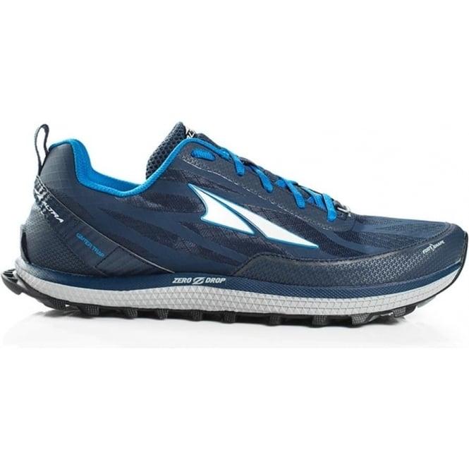 Altra Superior 3.5 Mens Zero Drop Trail Running Shoes Blue