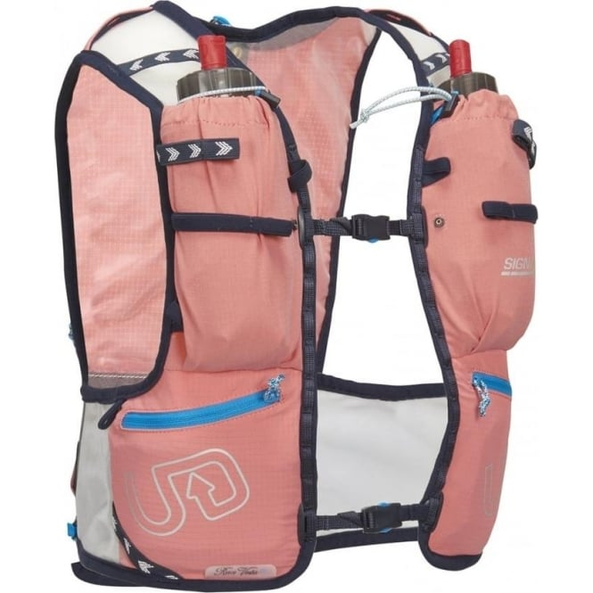 Ultimate Direction Race Vesta v4 Womens Running Hydration Vest Coral