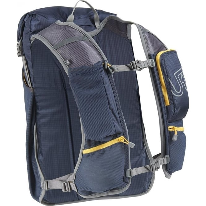 Ultimate Direction Fastpack 15 Running Bag with Hydration and 20L Storage Obsidian Grey