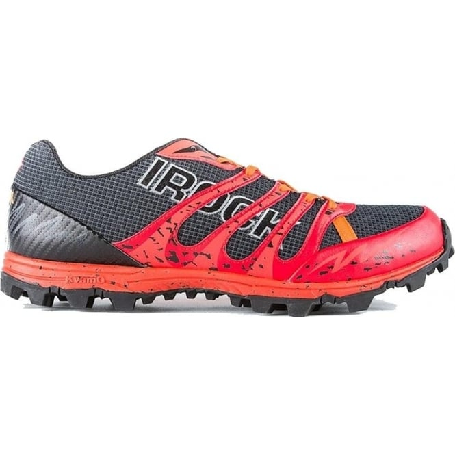 VJ Sport iRock 2 Womens Trail Running & Obstacle Course Racing Shoes Red/Black