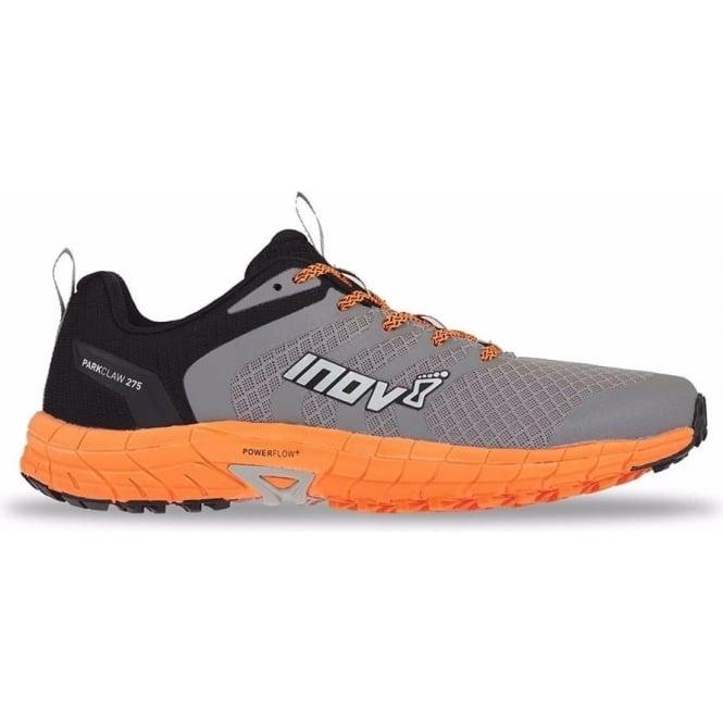 Inov8 Parkclaw 275 Mens STANDARD FIT (WIDER) Trail Running Shoes Grey/Black/Orange