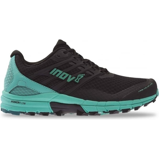 Inov8 TrailTalon 290 Womens STANDARD FIT (WIDER) Trail Running Shoes Black/Teal