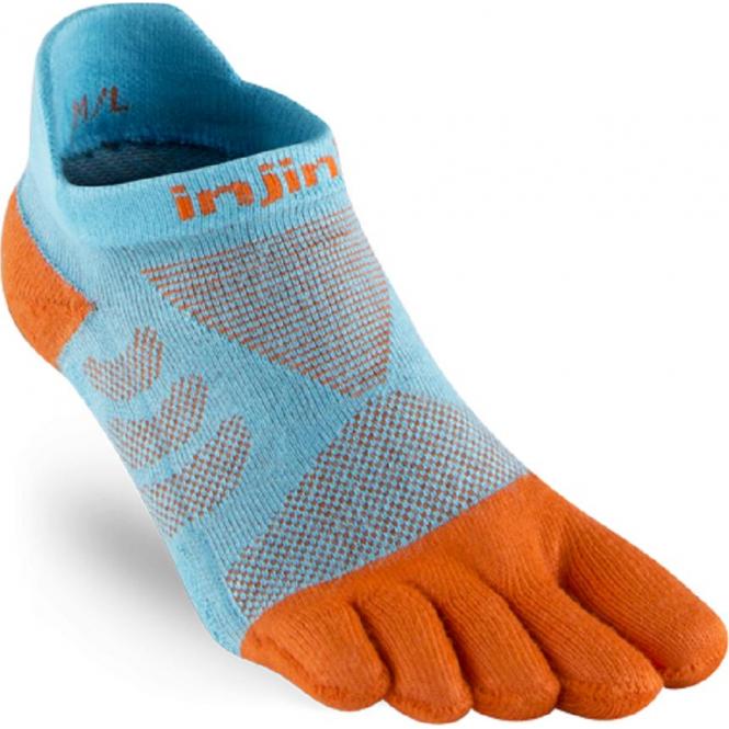 Injinji Socks Performance Ultra Run No Show Womens Running Socks Gills