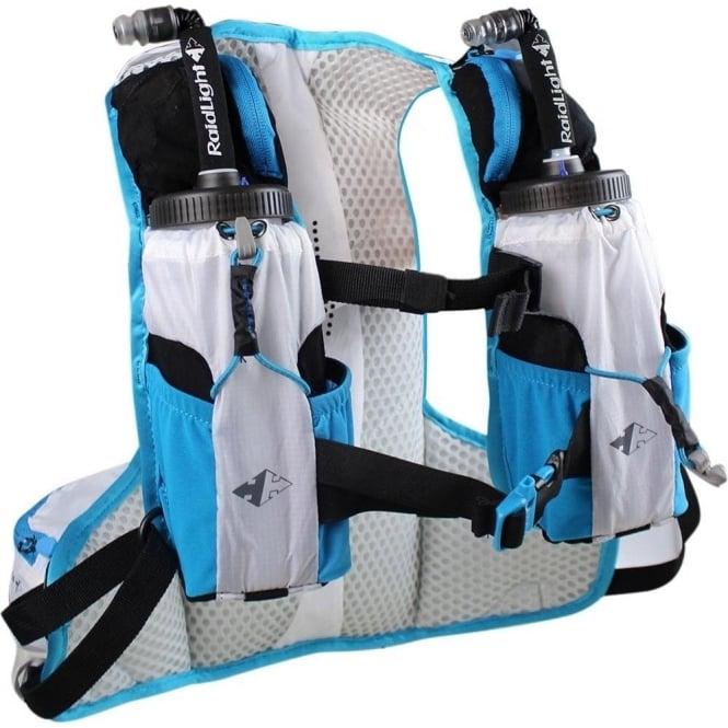 Raidlight Ultra Legend 5L Running Hydration Vest White/Electric Blue