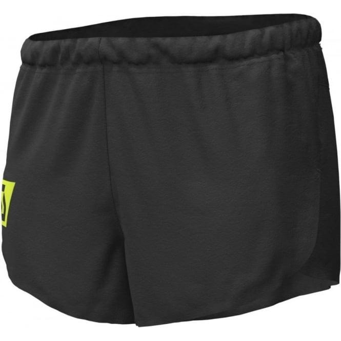 Scott RC Run Mens Split Running Shorts Black/Yellow