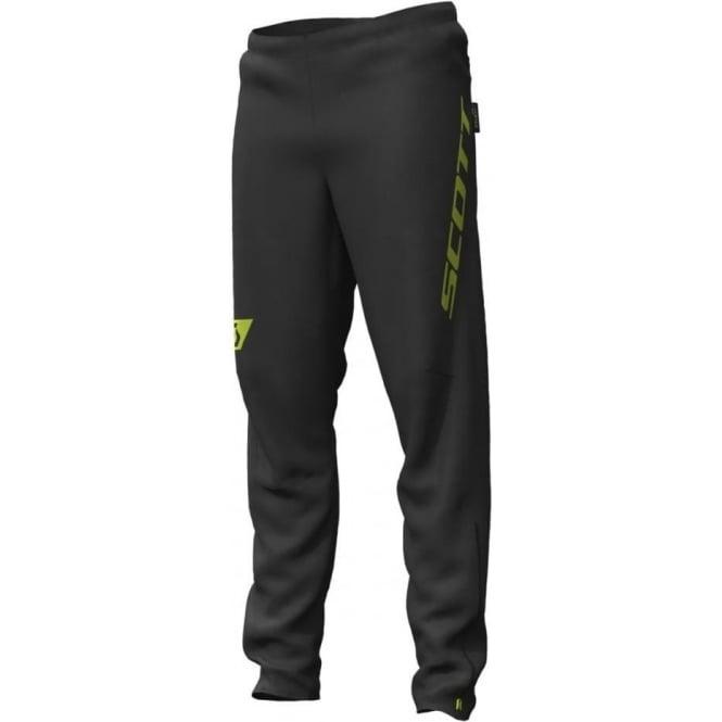 Scott RC Run Mens Waterproof Breathable Running Pants/Trousers Black/Yellow