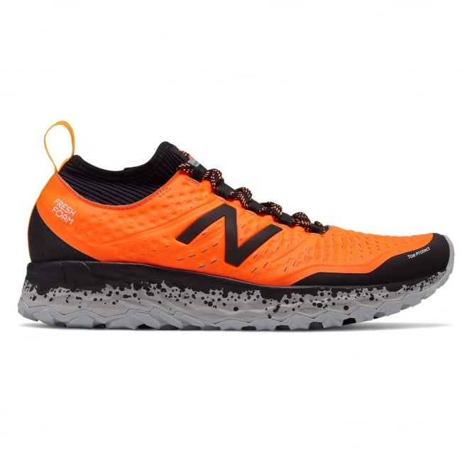 New Balance Hierro v3 Fresh Foam Mens 2E WIDE Cushioned Trail Running Shoes  Dynamite/Black