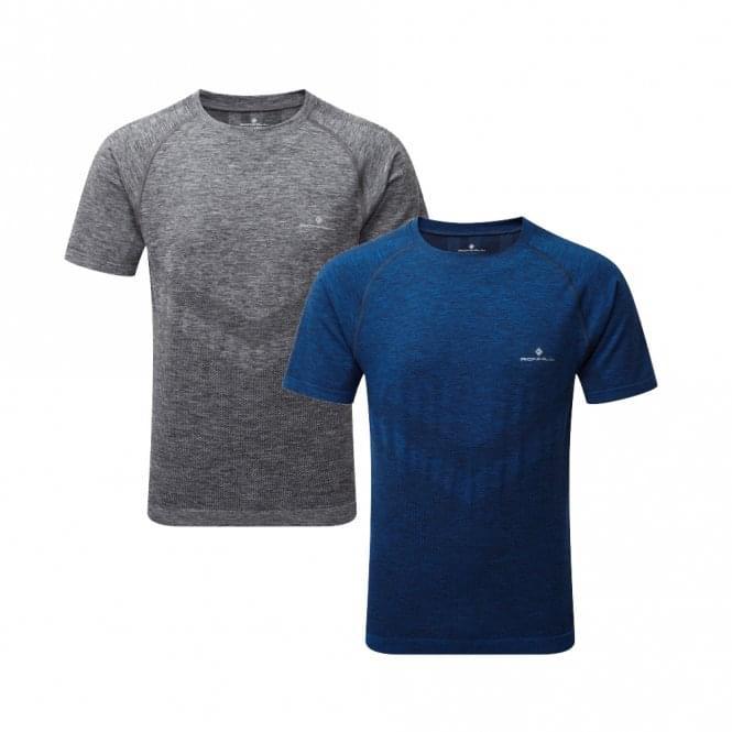 Ronhill Infinity Marathon Mens Breathable & Sweat Wicking Short Sleeve Running T-shirt