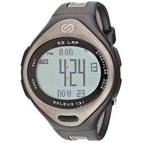 Soleus 131 Large Black Running Watch