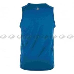 Odlo Lucid Mens Running Singlet Majestic Blue
