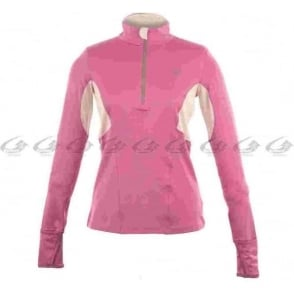 New Balance Womens Long Sleeve Half Zip Running Top