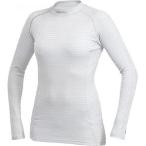 Craft Zero Extreme Long Sleeve Base Layer White/Silver Women's