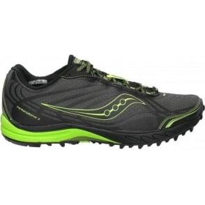 Saucony ProGrid Peregrine 2 Minimalist Trail Running Shoes Black/Citron Women's