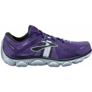 Brooks Pure Flow Minimalist Road Running Shoes Neon Purple/Neon Blue/Black Women's