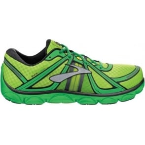 Brooks Pure Flow Minimalist Road Running Shoes GreenGecko/AndeanToucan/Black Kids