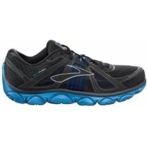 Brooks Pure Flow Minimalist Road Running Shoes Olympic/Black/Obsidian/Silver Mens