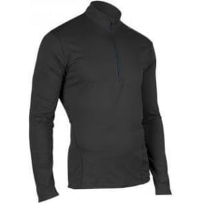 Sugoi Carbon Zip Neck Base Layer Black Mens