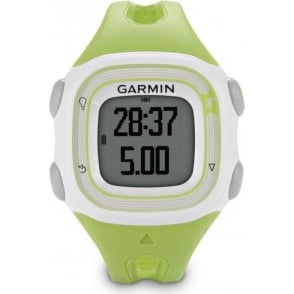 Garmin Forerunner 10 GPS Watch Green/White